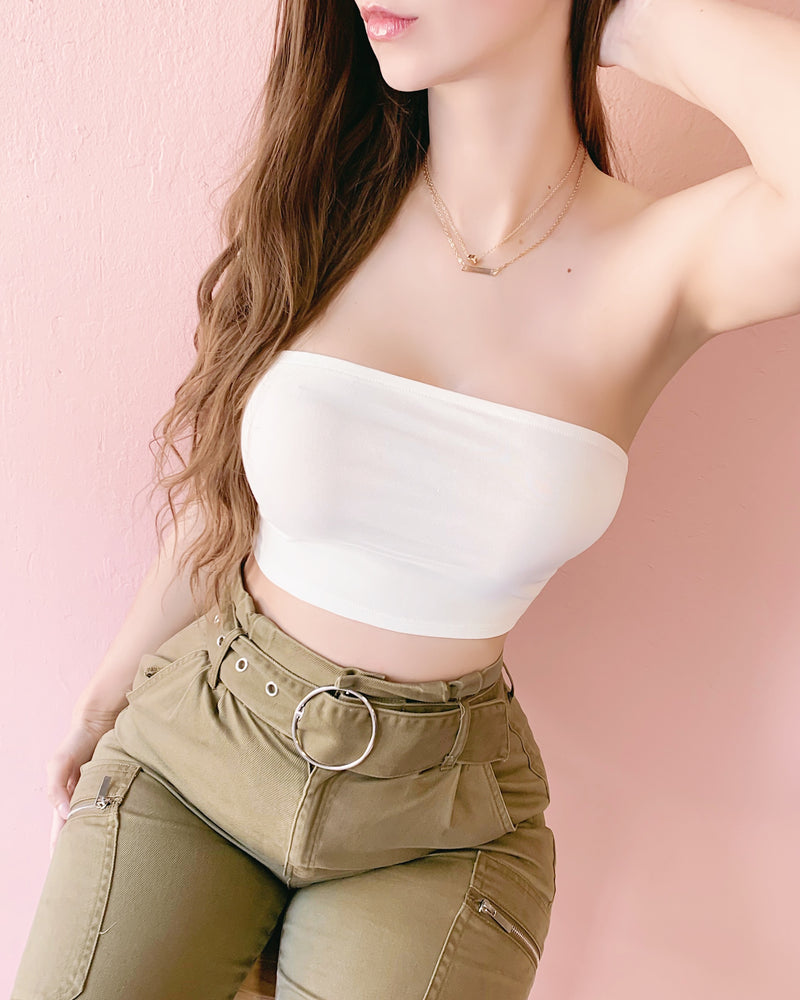 LAST STOCK!! FINE WITHOUT YOU STRAPPY BACK TOP (OLIVE)