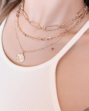 CELINA GOLD CHAIN NECKLACE
