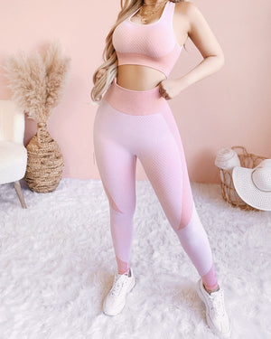 GETTING PHYSICAL WORKOUT SET (BLUSH)