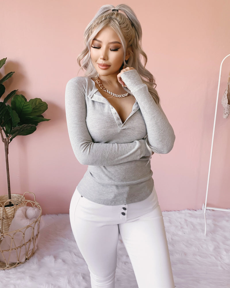 KEEP ME WARM THERMAL TOP (WHITE)