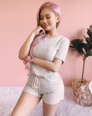 HOME & COZY LOUNGE SET (GREY)