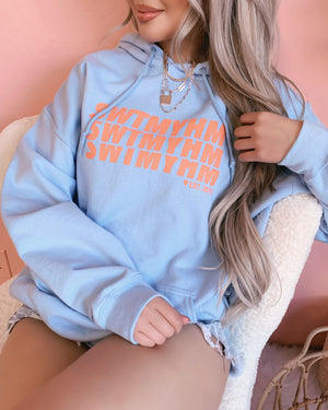 ♥ SWTMYHM HOODIE (PEACH/OMBRE DESIGN) ♥