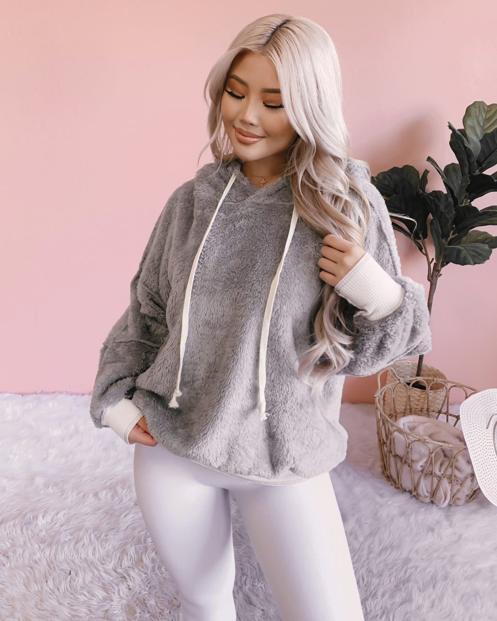 SWEETHEART SHERPA SWEATER (COCOA)