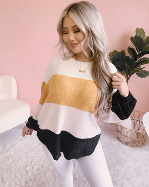 FOREVER YOURS KNIT SWEATER