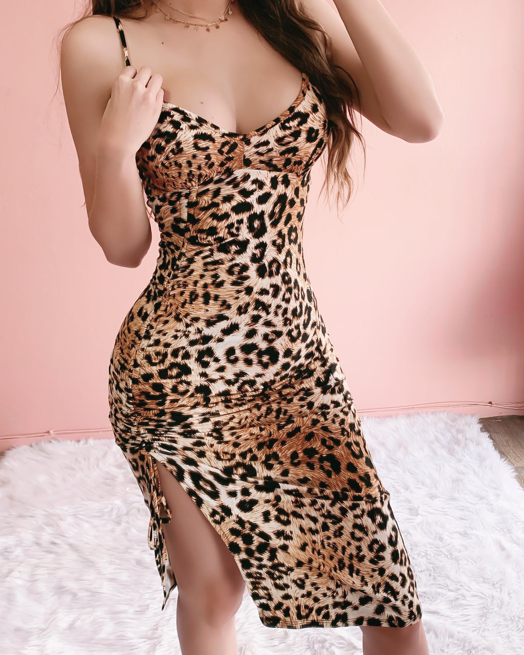 EYES ON ME CHEETAH DRESS