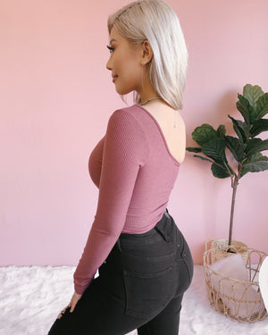 RESTOCKED! TAKING SIDES ONE SHOULDER BODYSUIT (BLACK)