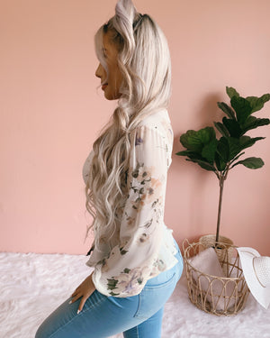 DOLLED UP FLORAL TOP
