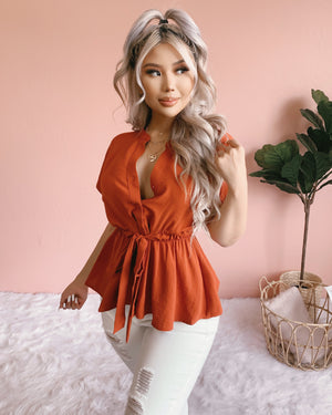 NEW COLOR!! ALL YOURS TOP (COCOA)