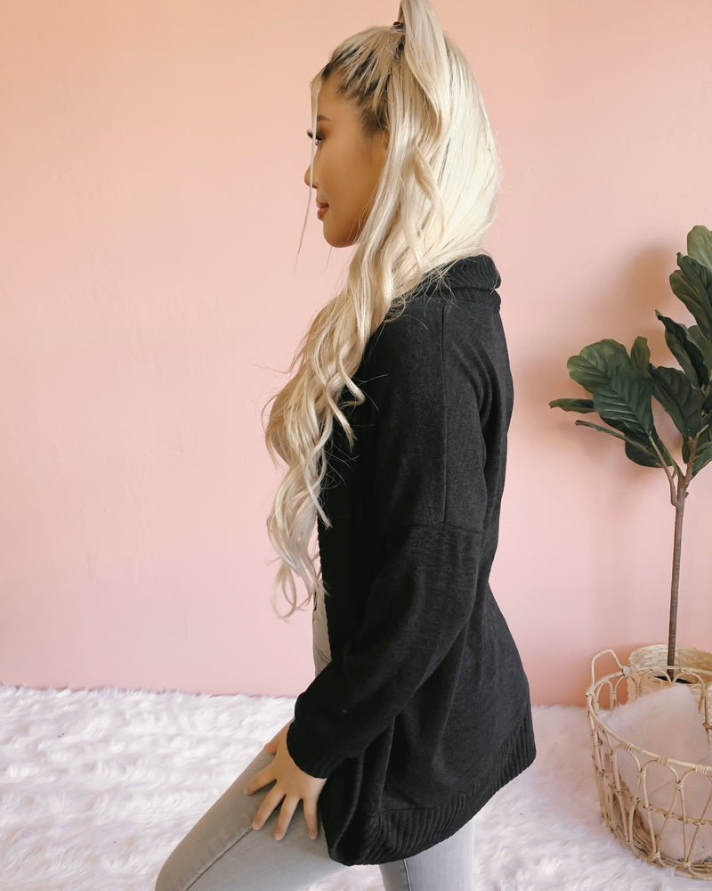 DOUBLE UP KNIT CARDIGAN