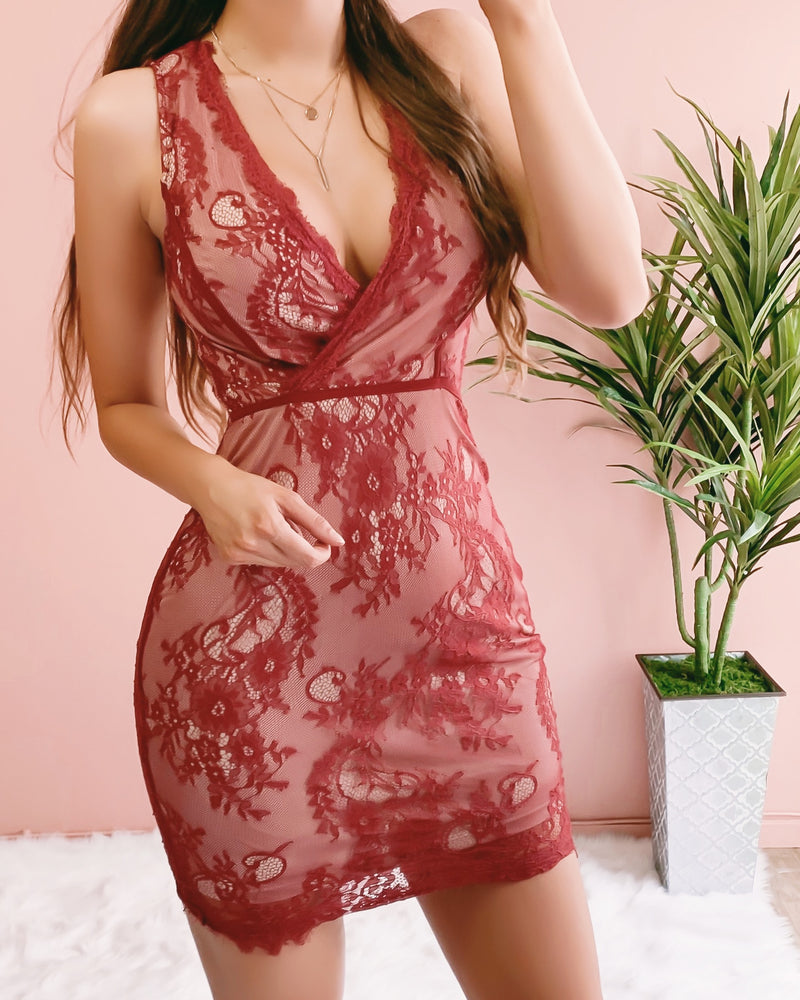 MARIAH LACE DRESS