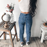 Danea Distressed Denim Jeans