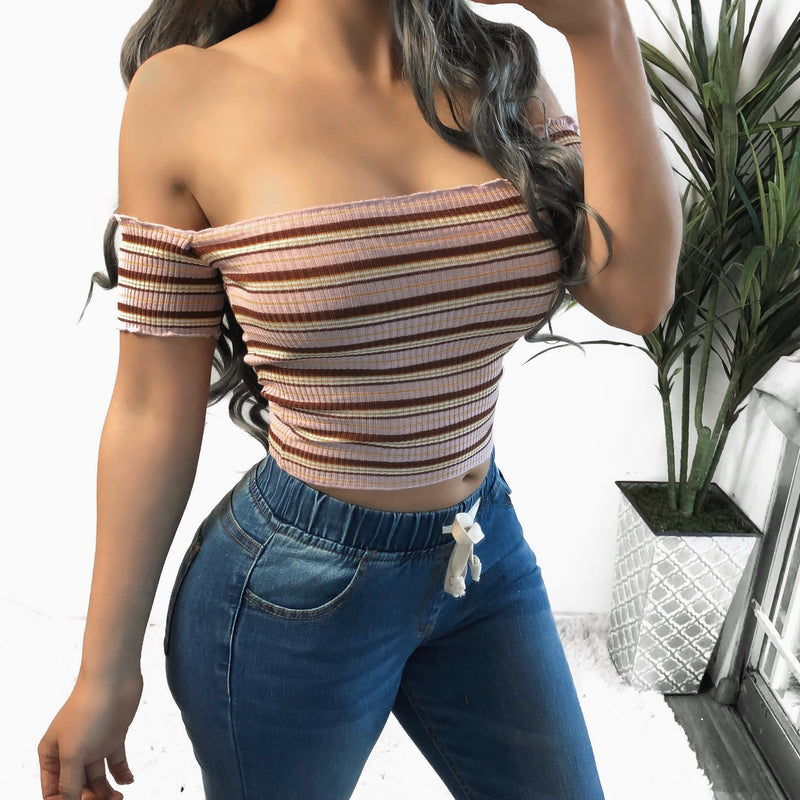 RESTOCKED! INGRID STRIPED TOP