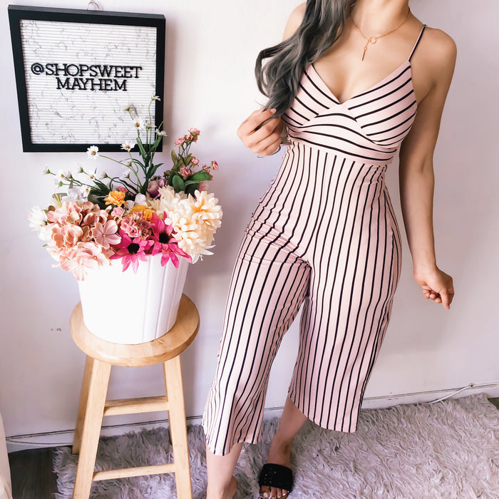 ERIKA CROPPED JUMPSUIT