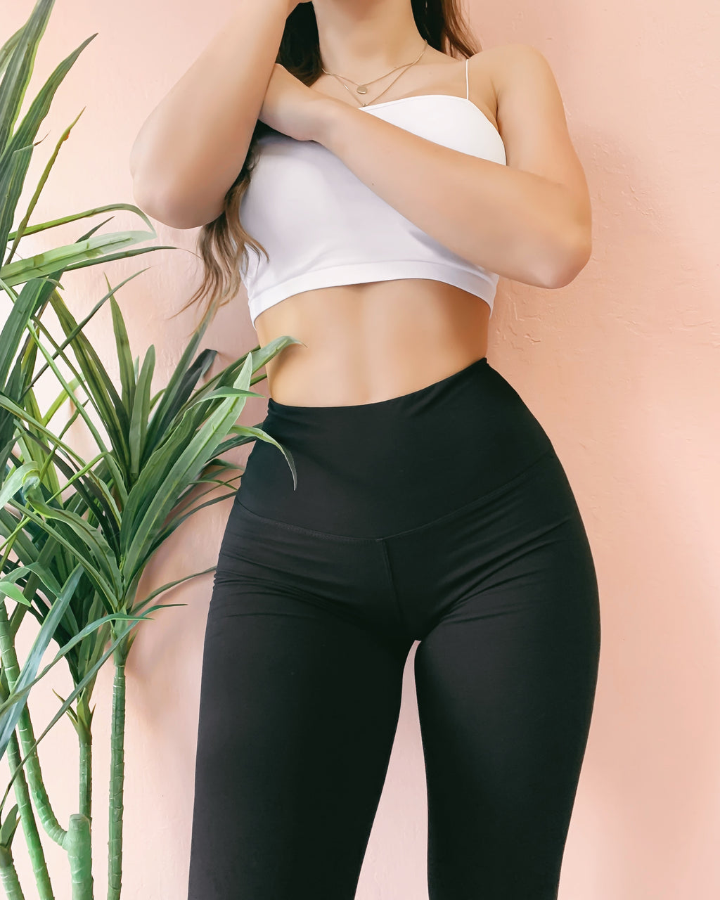 RESTOCKED! GENIE THICK BAND HIGH WAIST LEGGINGS