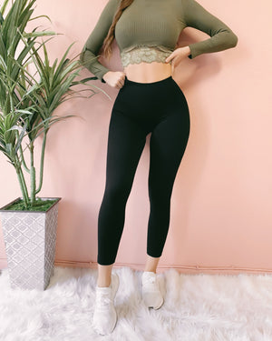 SUCK IT IN COMPRESSION HIGH WAIST LEGGINGS (PREORDER)
