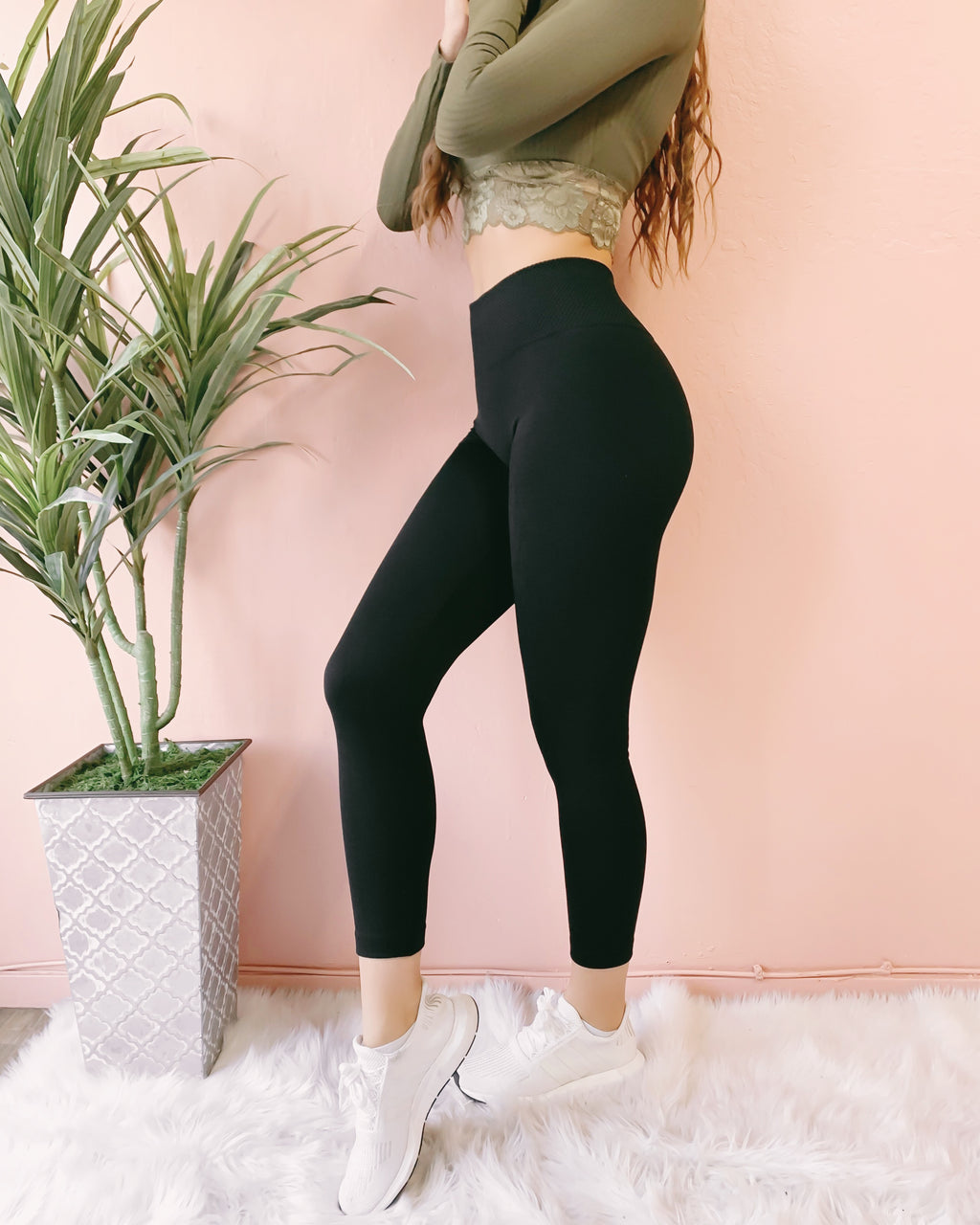 RESTOCKED! SUCK IT IN COMPRESSION HIGH WAIST LEGGINGS