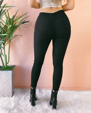 RESTOCKED #21! ON THE DAILY MOTO PANTS (BLACK)