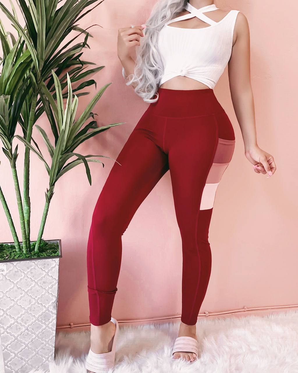 ERIN GRADIENT POCKET LEGGINGS