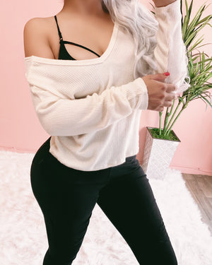 REVERSIBLE SARAH TOP (BLUSH)