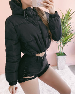 PAULINA PADDED JACKET (BLACK)