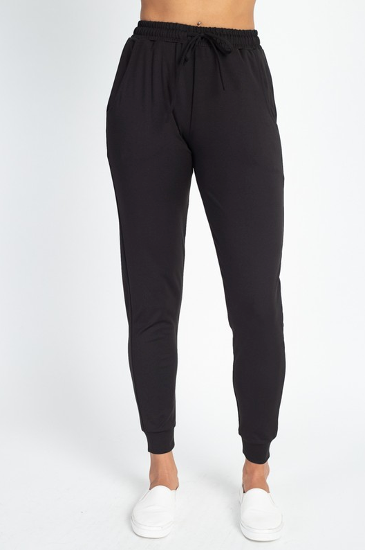 RESTOCKED! LAZY SUNDAY JOGGERS (BLACK)