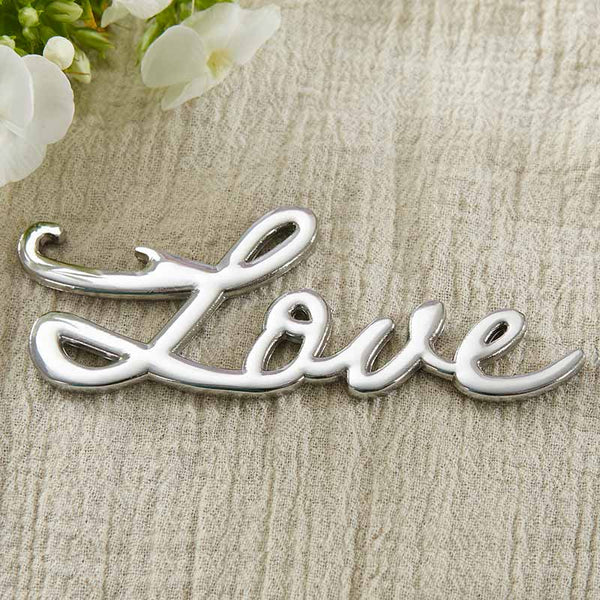 """Love"" Bottle Opener - Sweet Heart Details"
