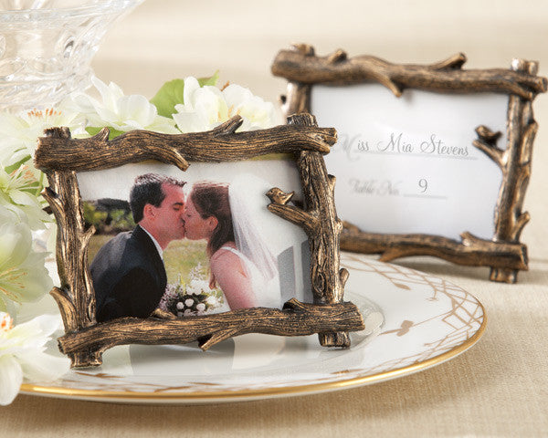 """Scenic View"" Tree-Branch Frames (set of 24)-Placecard Holders-Kate Aspen-25076BR-Sweet Heart Details"