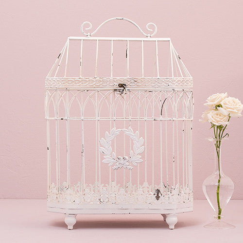 Iron Bird Cage - Conservatory Style-Wedding Decorations-Wedding Star-4477-08-Sweet Heart Details