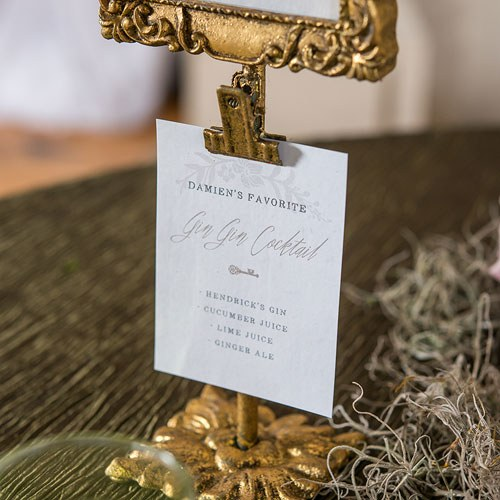 Rectangular Baroque Standing Frames (6) - Gold-Table Numbers-Wedding Star-7107-55-Sweet Heart Details
