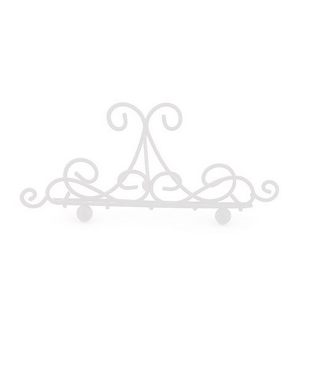 Ornamental Wire Card Holders (24)-Placecard Holders-Wedding Star-9190-08-Sweet Heart Details