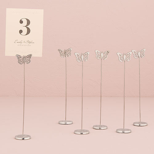Butterfly Table Number Holder (Set of 6)