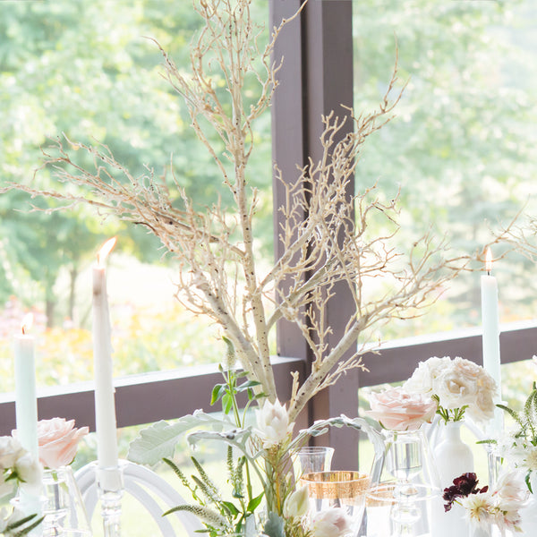 Artificial Birch Tree Centerpiece - Sweet Heart Details