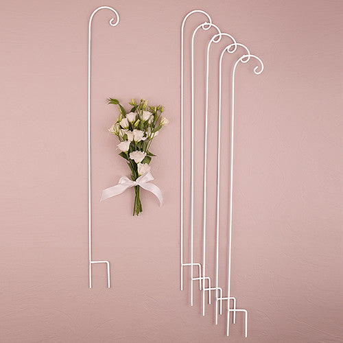 Decorating Metal Shepherd Hooks (set of 6)-Wedding Decorations-Wedding Star-Sweet Heart Details