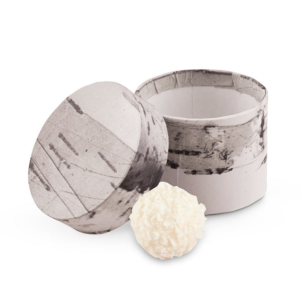 Rustic Birch Circular Favor Box (30)