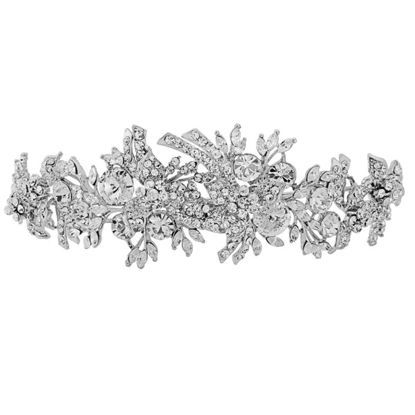 Luxe Crystal Shimmer Tiara - Sweet Heart Details