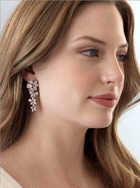 """The Delilah"" CZ Drop Earrings"