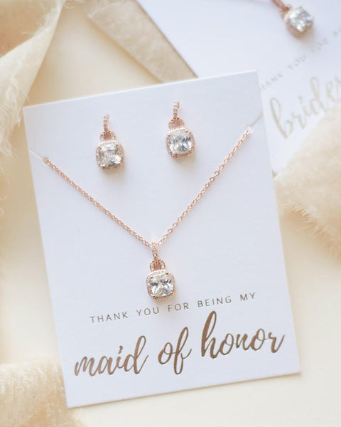 """The Catalina"" Bridesmaid Jewelry Sets"
