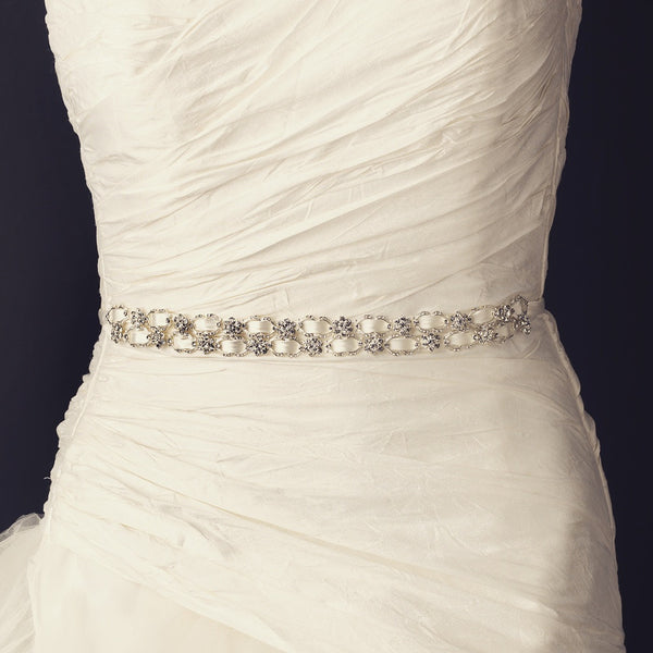 """The Kassandra"" Vintage Satin Ribbon ""Buckle"" Belt"