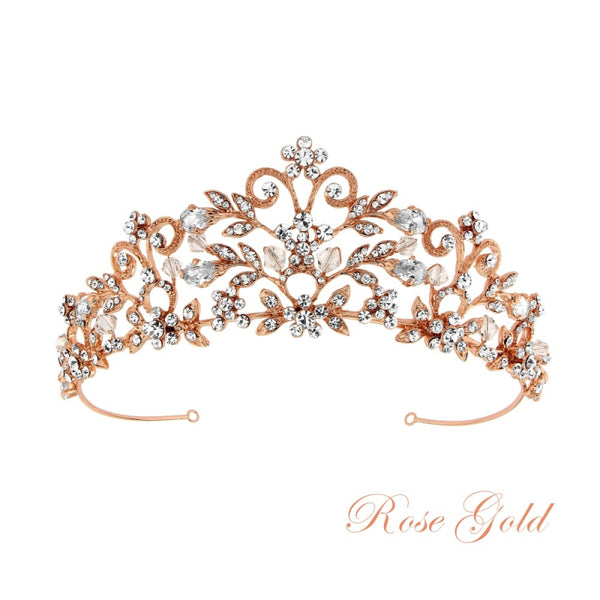 """The Rochelle"" Enchantment Tiara-Tiaras & Headbands-Sweet Heart Details"