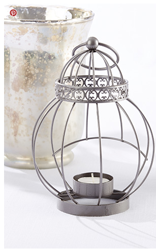 Vintage Bird Cage Lanterns - Sweet Heart Details