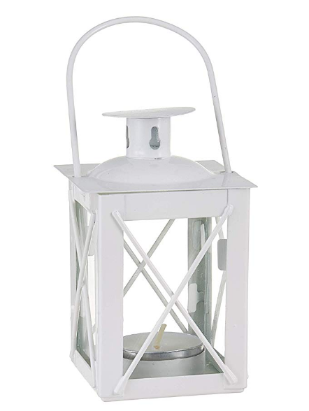 "Luminous Mini-Lantern 5"" (6)-Wedding Decorations-Kate Aspen-Sweet Heart Details"