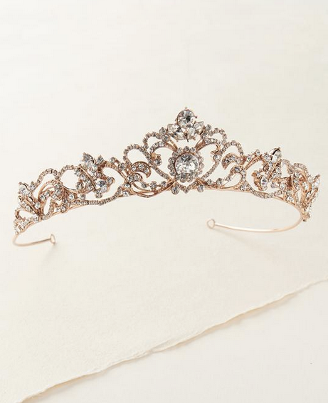 """The Lizbeth"" Rhinestone Tiara"