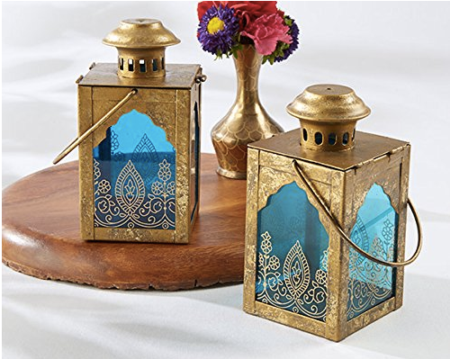 Indian Jewel Lanterns (sets of 5)-Wedding Decorations-Kate Aspen-Sweet Heart Details