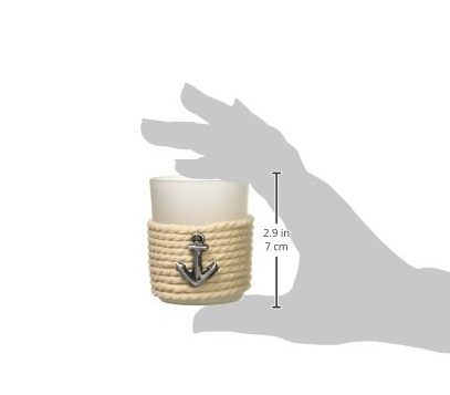 """Anchors Away"" Rope Tea Light Holders"
