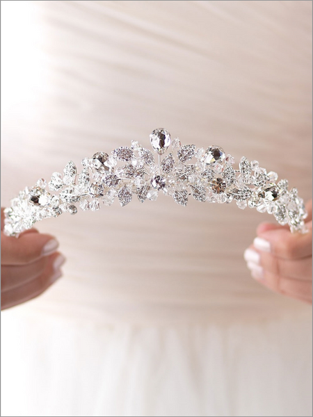 """The Andrea"" Spectacular Swarovski Crystal Tiara"