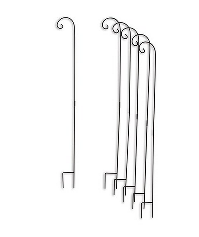 Decorating Metal Shepherd Hooks (set of 6) - Sweet Heart Details