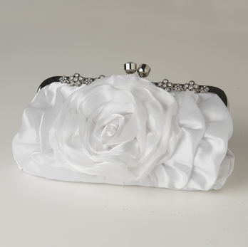"""The Heather"" Floral Evening Bag - Sweet Heart Details"