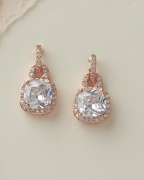 """The Catalina"" Bridesmaid Jewelry Sets - Sweet Heart Details"
