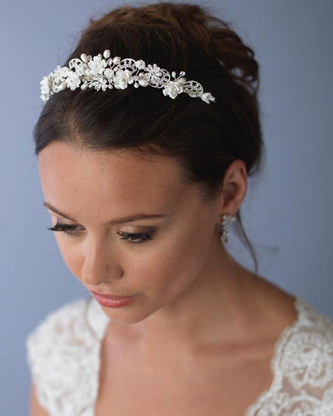 Tiaras & Headbands-TI-3235-Sweet Heart Details