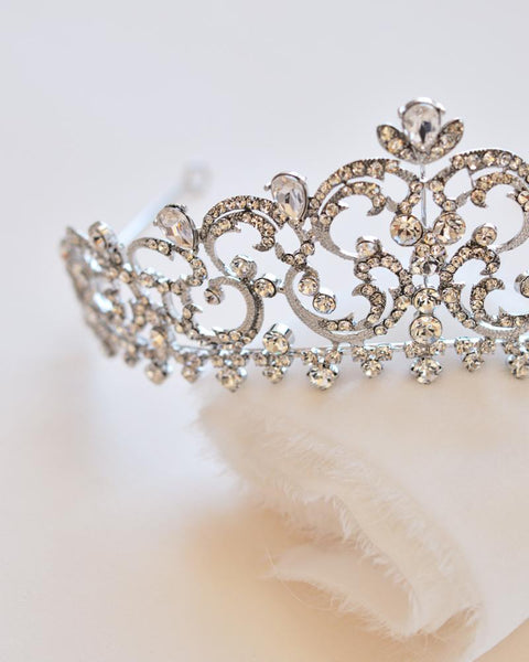 """The Florentina"" Royal Crown - Sweet Heart Details"